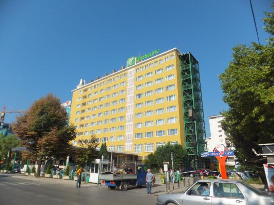 Hotel Outside View Picture Of Holiday Inn Skopje