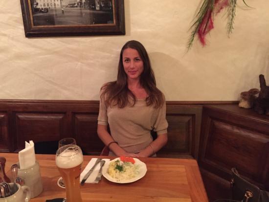 Erdinger Bier Picture Of Hotel Und Gaststatte Zum