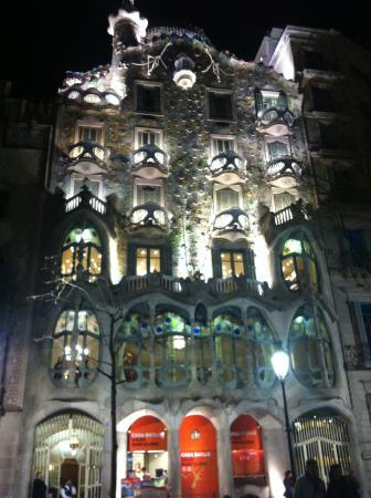 Le puits de jour  Picture of Casa Batllo Barcelona