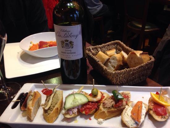 Entre de tapas  Picture of Le Bar Basque SaintJeandeLuz  TripAdvisor