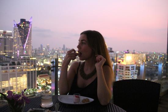 Abendessen Auf Der Terrasse In Der Executive Lounge Photo De