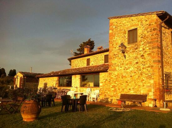 Agriturismo Macinello Montefiridolfi Italy Tuscany