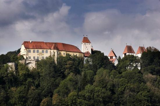 Auenansicht Schloss Neuburg