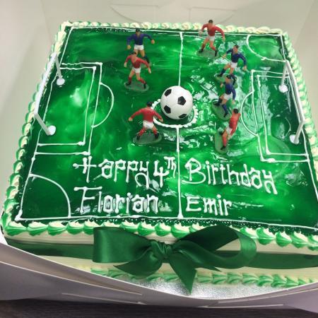 Football Birthday Cake Picture Of Devine Cakes Nottingham