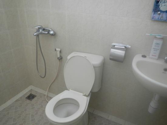 Clean Bathroom With European Toilet Picture Of Hotel Besar Purwokerto Tripadvisor
