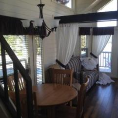 Wine Country Living Room Dry Bar And Table Picture Of Rv Resort Paso
