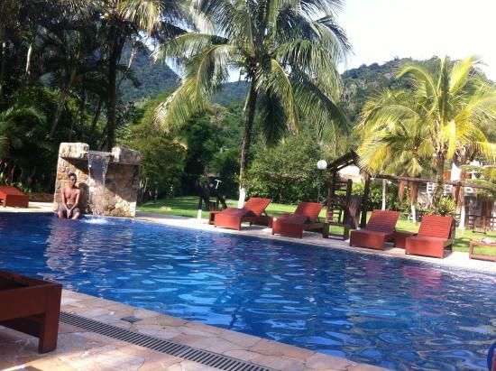 vista da piscina  Picture of Hotel Delta Maresias Maresias  TripAdvisor