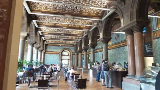 Inside The Cafe Picture Of The Tiled Hall At Leeds Art