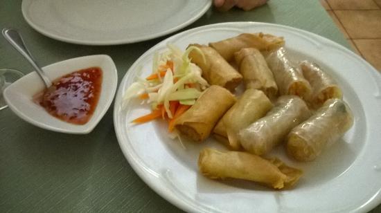 Involtini di verdure fritti e al vapore  Picture of Cucina Thailandese Lecce  TripAdvisor