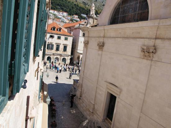 Secret Apartments Dubrovnik I Apartment View From The Window