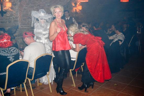 Halloween party in Romania Sighisoara Citadel dracula country draculas castle tour Transylvan