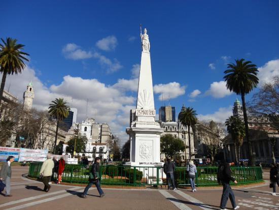 Casa Rosada en la Plaza de Mayo  Picture of Plaza de Mayo