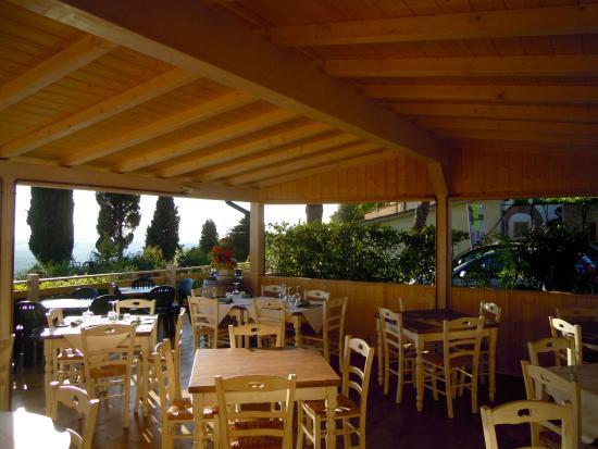La terrazza  Picture of Ristorante Antico Borgo