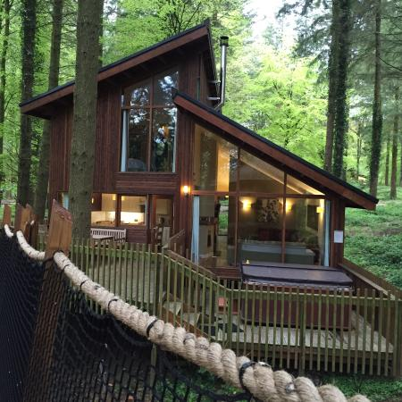 Forest Holidays Forest of Dean Gloucestershire  UPDATED
