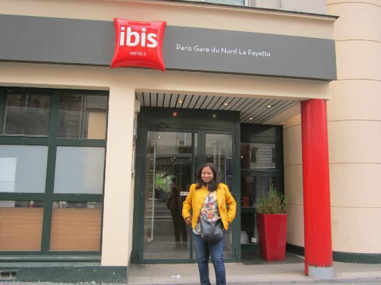 The Entrance Picture Of Ibis Paris Gare Du Nord La Fayette