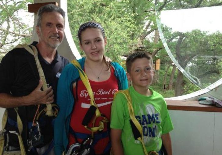 Austin Zip Line Tree Adventure