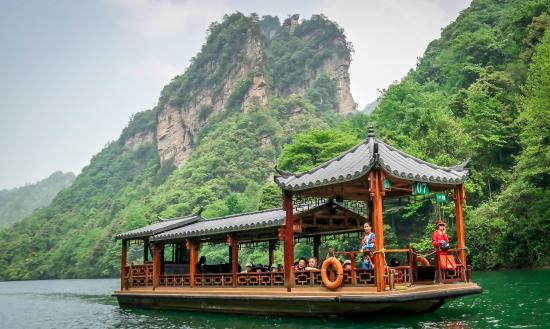 Get On The Boat Foto Baofeng Lake Zhangjiajie Tripadvisor
