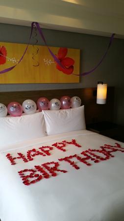Leonia Holistic Destination Birthday Decoration In Our Room