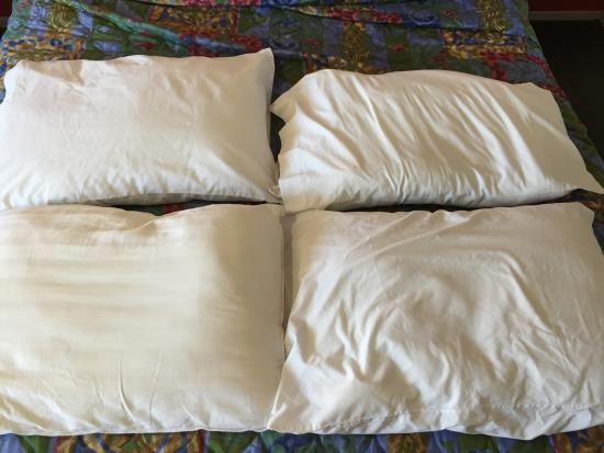 the four pillows 2 flat 2 lumpy and