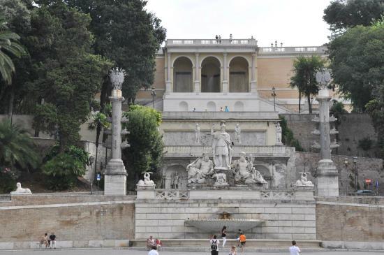 Foto de Monte Pincio Roma Monte Pincio  terrazza su piazza del Popolo  TripAdvisor