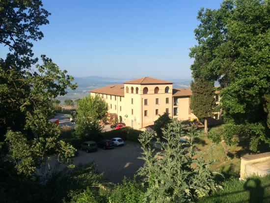 Hotel And Parking Picture Of Park Hotel Le Fonti Volterra
