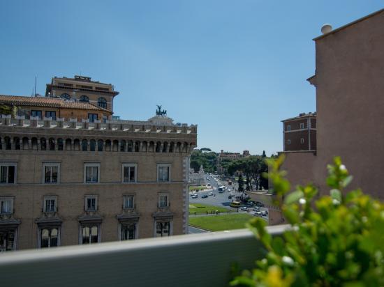 Terrazza  Picture of Hotel Piazza Venezia Rome  TripAdvisor