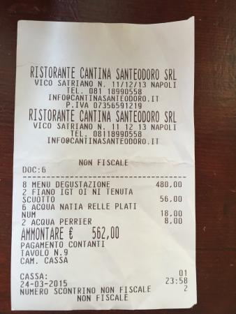 Cantina San Teodoro Napoli  Ristorante Recensioni