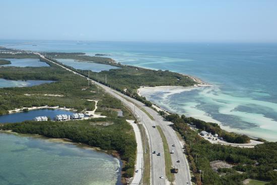 Florida Highway Map.Florida Highway Keys Scenic Map