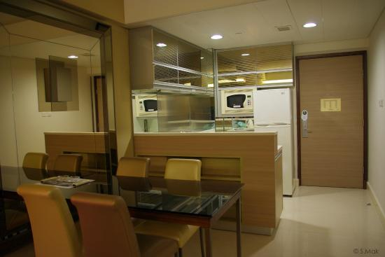 hotel with kitchen hong kong antique cabinet dining area picture of kowloon harbourfront