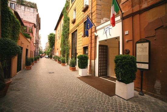 Romantic Restaurants Rome Italy