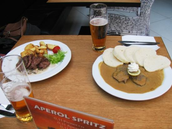 kitchen magician chimney the lubos picture of hotel plzen pilsen beef medallions and roast