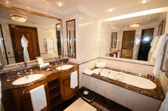 Bathroom Picture Of The Ritz Carlton Moscow Tripadvisor