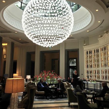 Corinthia Hotel London Chandelier Baccarat Full Moon