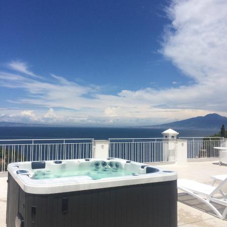 Roof Top Jacuzzi With Views Of Capri Picture Of Boutique