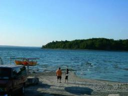 Image result for bar harbor low tide