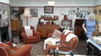 1940's living room.