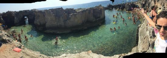 piscine naturali dallalto 2  Picture of Piscina Naturale di Marina Serra Tricase  TripAdvisor
