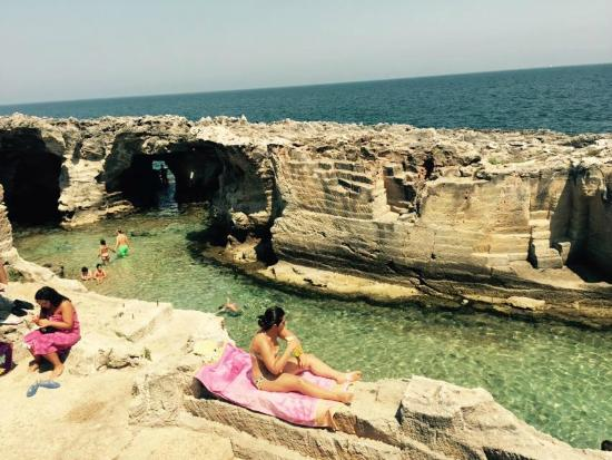 piscine naturali vista spettacolare  Picture of Piscina Naturale di Marina Serra Tricase