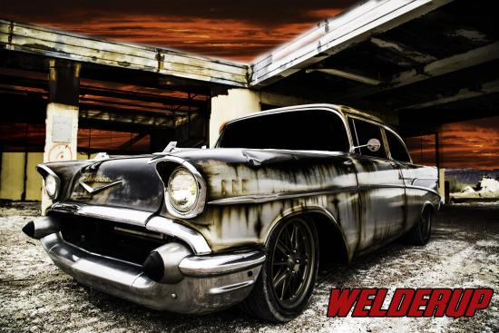 57 chevy picture of