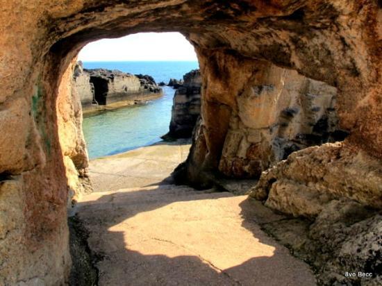 Marina di Serra Tricase Piscine naturali  Bild von
