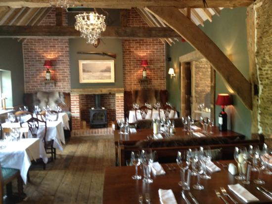 Barn style dining area  Picture of The Wisborough Pub