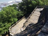 Mountain stairway - Picture of Nihondaira Ropeway ...