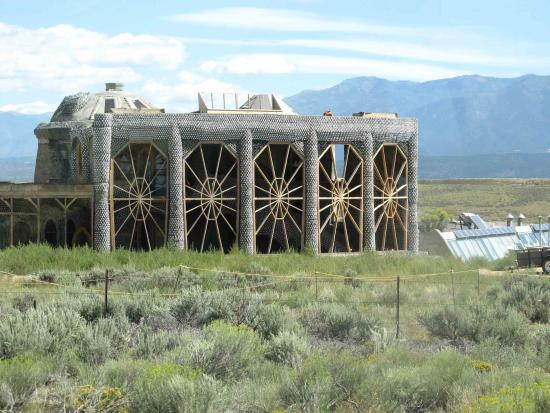 Image result for picture of an earthship in taos