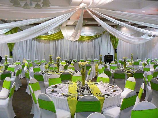Doubletree By Hilton Hotel London Docklands Riverside Gb Millennium Room Wedding Set Up