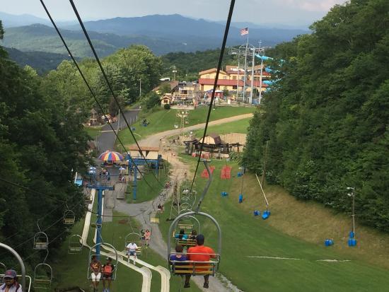 Ober Gatlinburg ski lift  Picture of Ober Gatlinburg