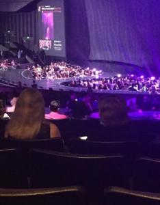 Zappos theater photo  also our view from section picture of las vegas rh tripadvisor