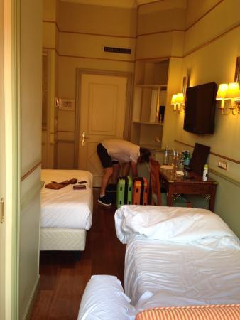 Kamer Picture Of Hotel Degli Aranci Rome Tripadvisor