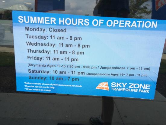 Md Operation Secu Hours
