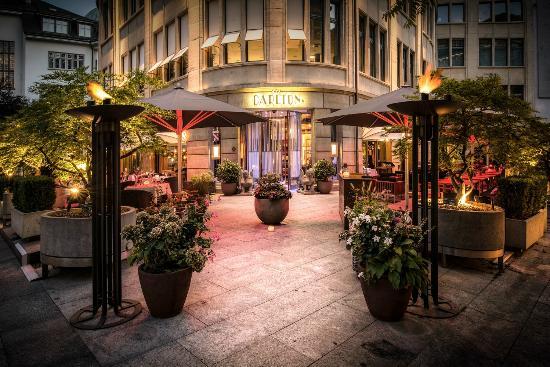 Terrasse Picture Of Carlton Restaurants & Bar Zurich TripAdvisor