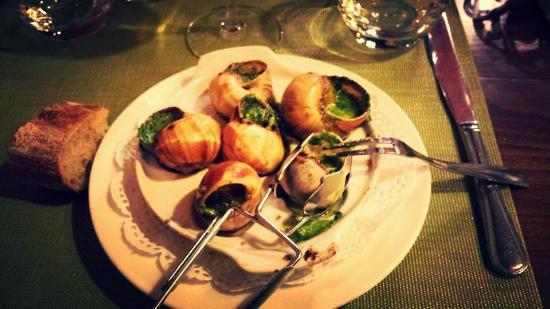 french restaurant in Paris fotografa de Roger la